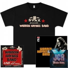 Warren Haynes Band - Moody Theater DVD/CD, T-Shirt, and Signed Lithograph Bundle