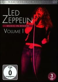 Maestros from the Vaults: Led Zeppelin - Music in Review, Vol. 1 (3DVD IMPORT ZONE 2)