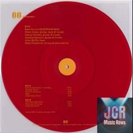 Live at the BBC, London Jan 1970 (LP clear RED Vinyl – light orange lettering LTD 500 copies)