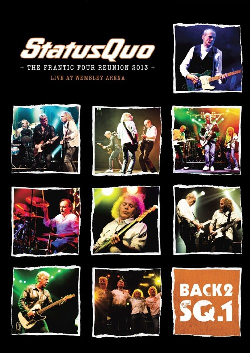 Status Quo: The Frantic Four Reunion 2013 (DVD IMPORT ZONE 2)