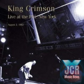 King Crimson Collectors Club Live at the Pier NYC 1982