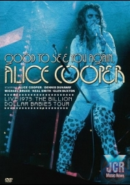 Good To See You Again, Alice Cooper - Live 1973: Billon Dollar Babies Tour (DVD IMPORT ZONE 2)