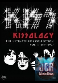 Kissology, Vol. 1, 1974-1977 (3 DVD IMPORT ZONE 2)