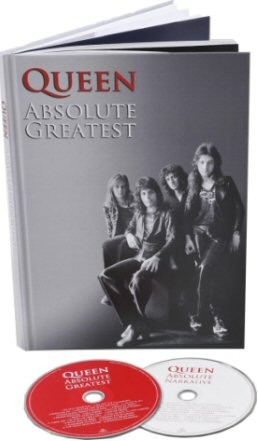 Absolute Greatest (A4 Casebound Book)