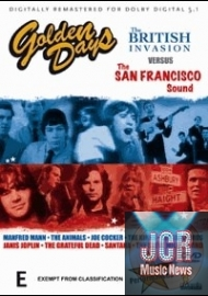 golden days of bristish invasion & san francisco sound (DVD IMPORT ZONE 2)