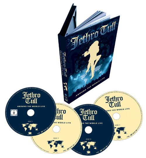 Around The World Live ( 4 DVD IMPORT ZONE 2)