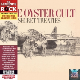 Secret Treaties - Paper Sleeve - CD Deluxe Vinyl Replica