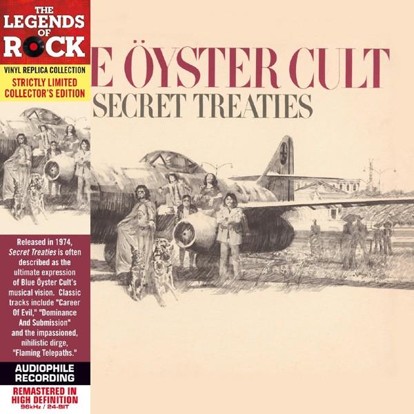 Secret Treaties - Paper Sleeve - CD Deluxe Vinyl Replica