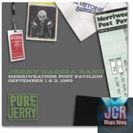 Pure Jerry: Merriweather Post Pavilion - September 1 & 2, 1989 (4CD )