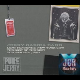 Jerry Garcia Band: Lunt-Fontanne, NYC, 'Best of the Rest' (3CD)