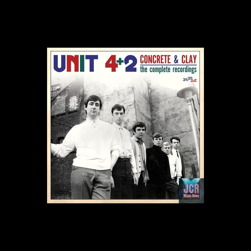 Unit 4 2 concrete clay the complete recordings 1964 1969 2cd jcrmusicnews - Cd concreet ...