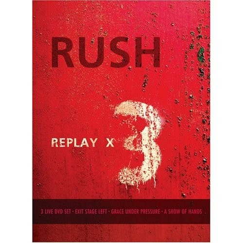 Replay X 3 (3 DVD + 1 CD IMPORT ZONE 1)
