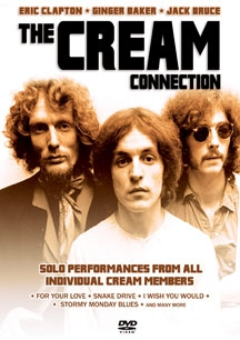 Cream Connection: Solo Performances From All Individual Cream Members (DVD IMPORT ZONE 2)