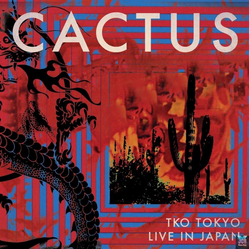 Cactus Tko Tokyo Live In Japan 2cd Dvd Jcrmusicnews