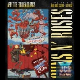"Guns N' Roses' 3D concert film, ""Appetite For Democracy: Live From The Hard Rock Casino Las Vegas (Deluxe 2CD+DVD)"