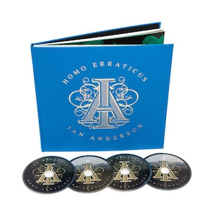 Homo Erraticus (Deluxe Edition) (2CD + 2DVD-V in hardback book)