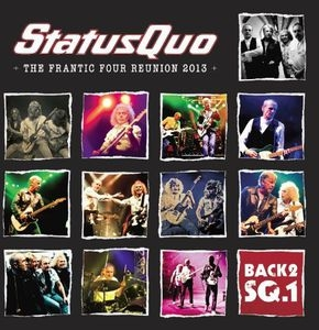 Live on Stage: Frantic Four Tour  Back2sq1 (Box-Set) CD+Blu-ray, Box-Set
