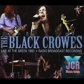 The Black Crowes live at LA's famous Greek Theatre, 1991.
