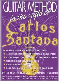 guitar method: in the style of Santana (DVD IMPORT ZONE 1)