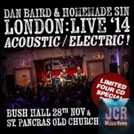 Dan Baird & Homemade Sin – Acoustic & Electric (4CD)