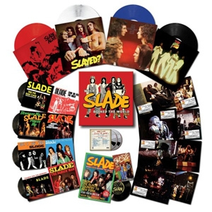 "When Slade Rocked The World 1971-1975 (180g Colour Vinyl 4LP + 4 x Pic Sleeve 7"" + Flexidisc + 2CD + Books - Limited Box Set)"