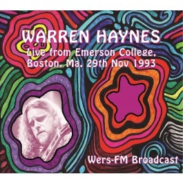 Live from Emerson College, (Boston, Ma. 29th Nov 1993 - Wers-FM Broadcast)