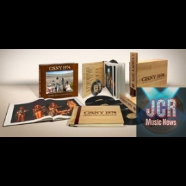 "CSNY 1974 LIMITED EDITION ""DELUXE BOX SET"" 40 YEARS • 40 TRACKS"