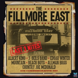 The Fillmore East Last 3 Nites (4CD)