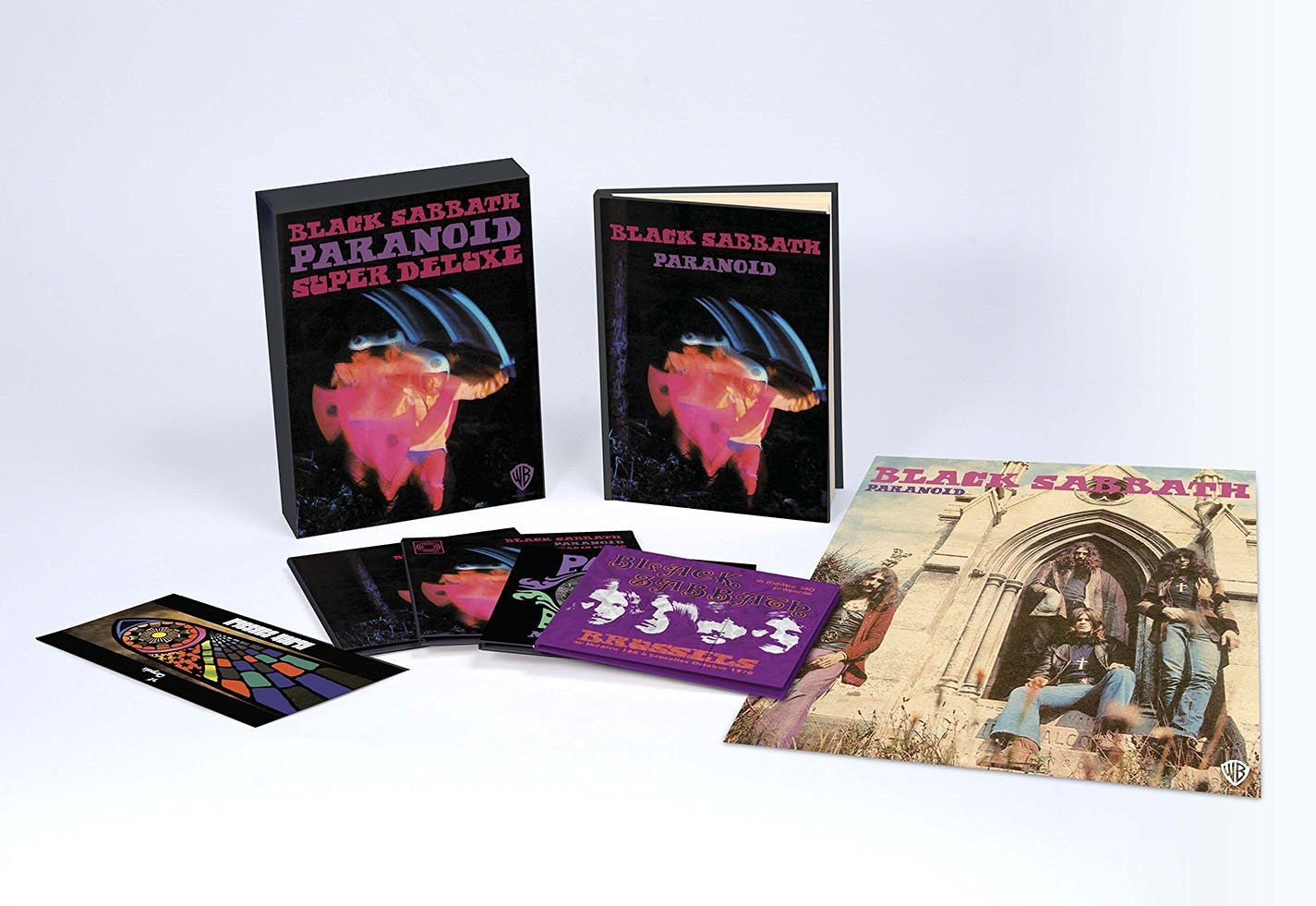 Paranoid (Deluxe Box)(4CD w/Book)