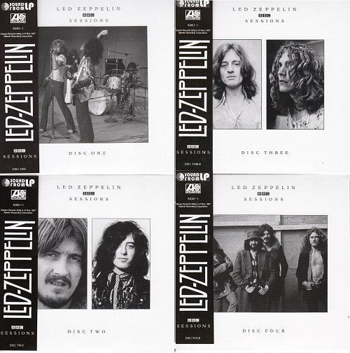 """Complete BBC Sessions"" 4CD set in Mini-LP card sleeve"