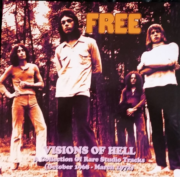 Visions Of Hell - A Collection Of Rare Studio Tracks (October 1968 - March 1972) (2 Vinyls)
