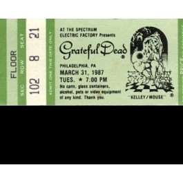 The Spectrum Philadelphia, PA, March 31st 1987 - WMMR-FM (3CD)