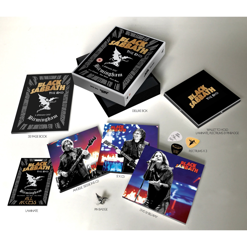 The end (Live in Birmingham) SUPER DELUXE * (3cd+Dvd+Bluray,Ltd.Super Deluxe Edt.) Box-Set