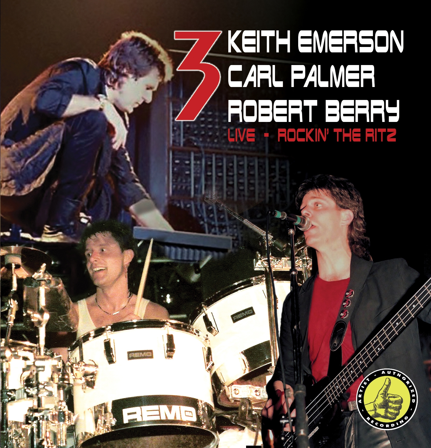 3 - Rocking The Ritz (2CD)