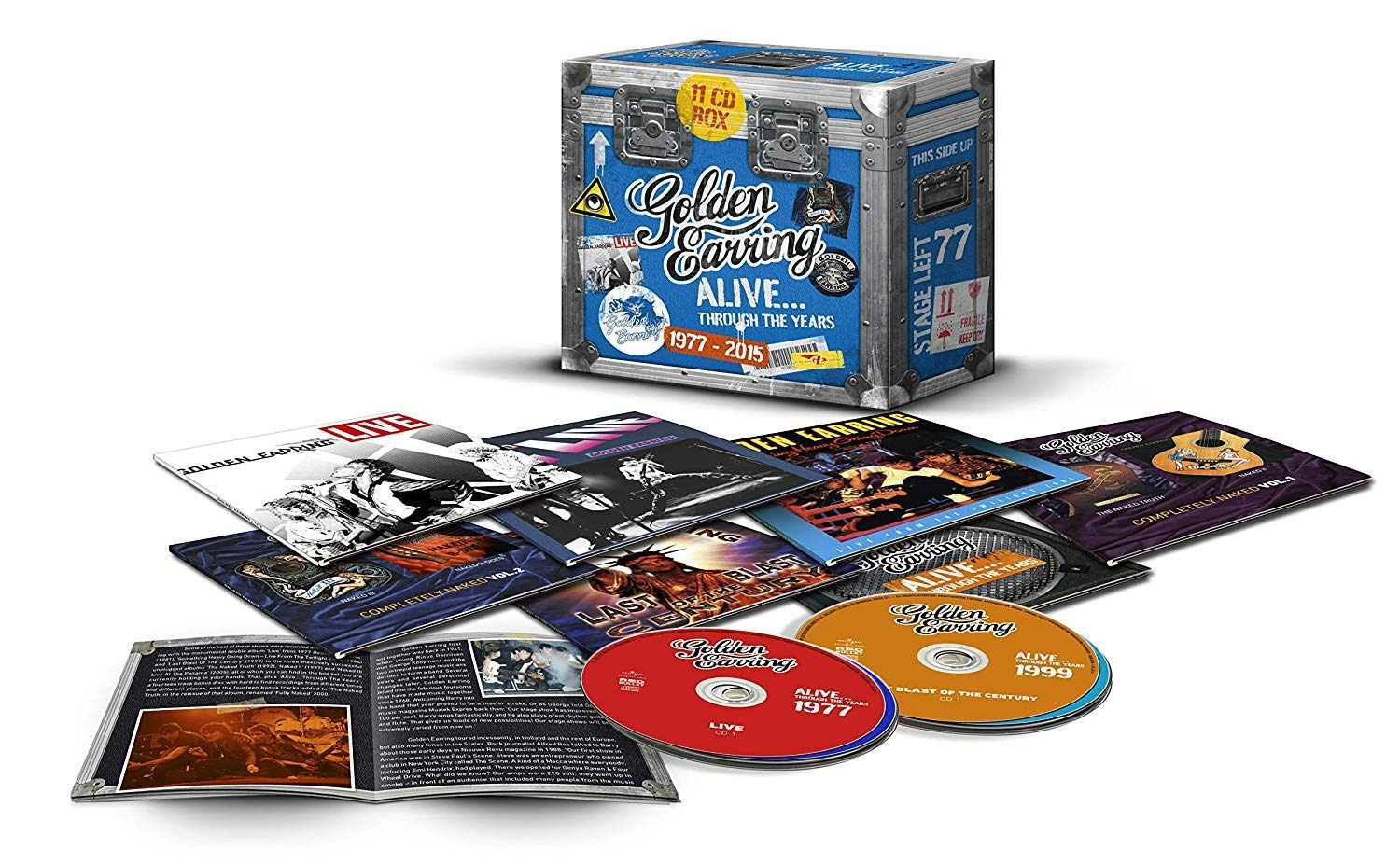 Alive... Through The Years (11CD * BOX-SET)