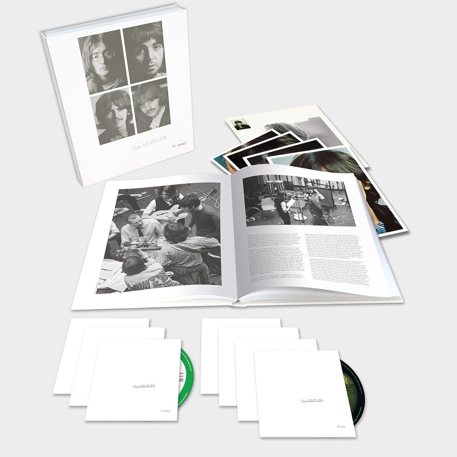 The Beatles (White Album) 6CD + Blue-Ray