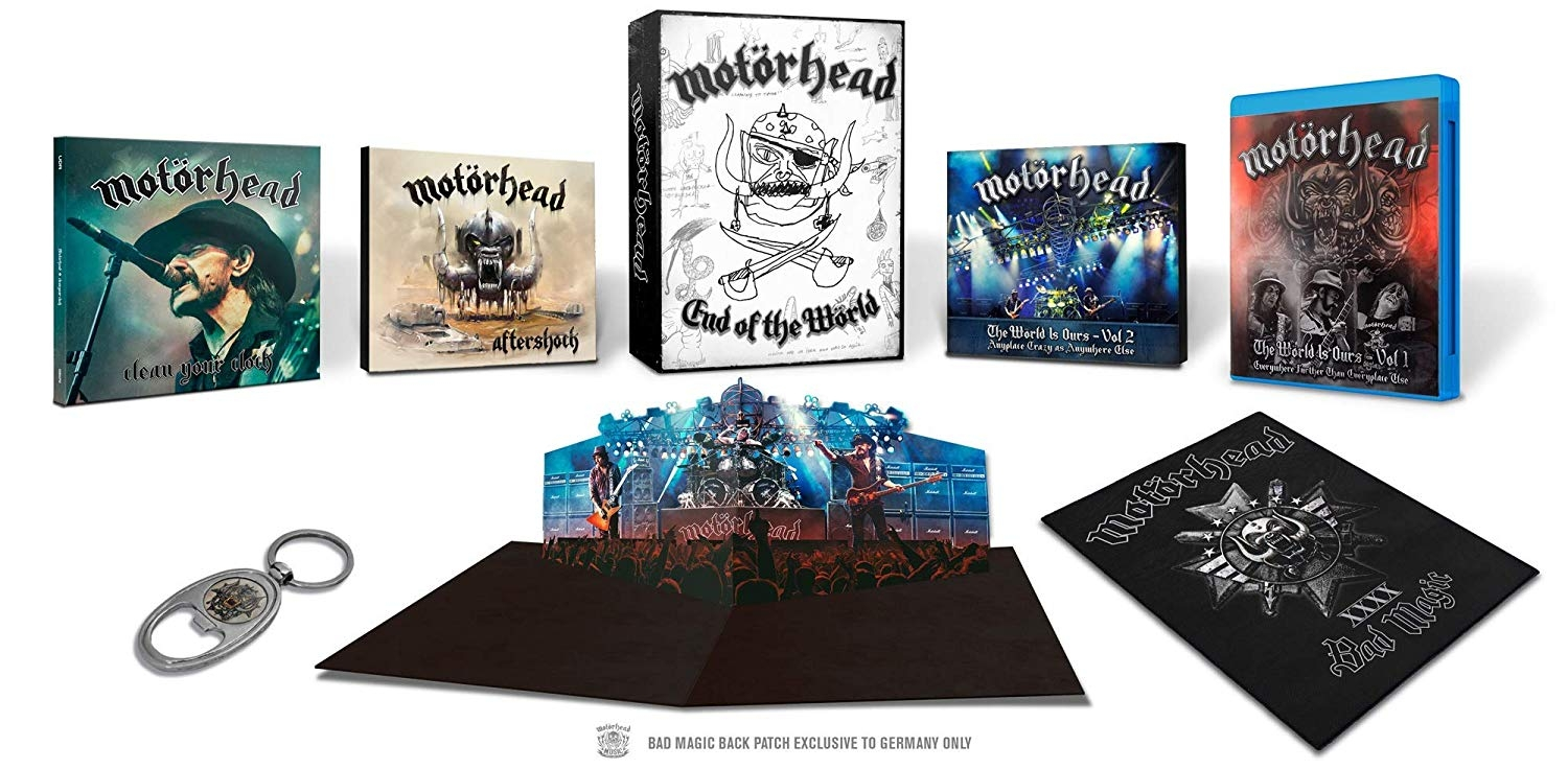 End of the World CD+DVD, Box set