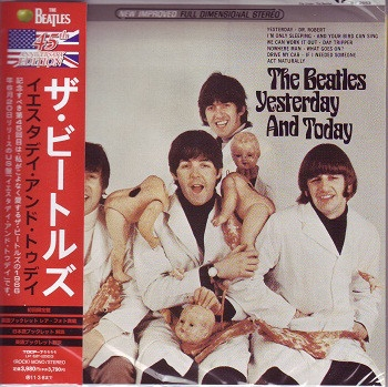 Yesterday And Today 45th Anniversary Deluxe Edition Mini LP CD Japanese Butcher