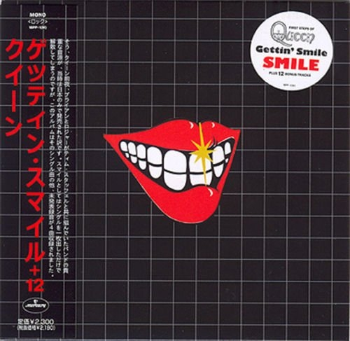 SMILE GETTIN' SMILE (PRE QUEEN) CD MINI LP OBI