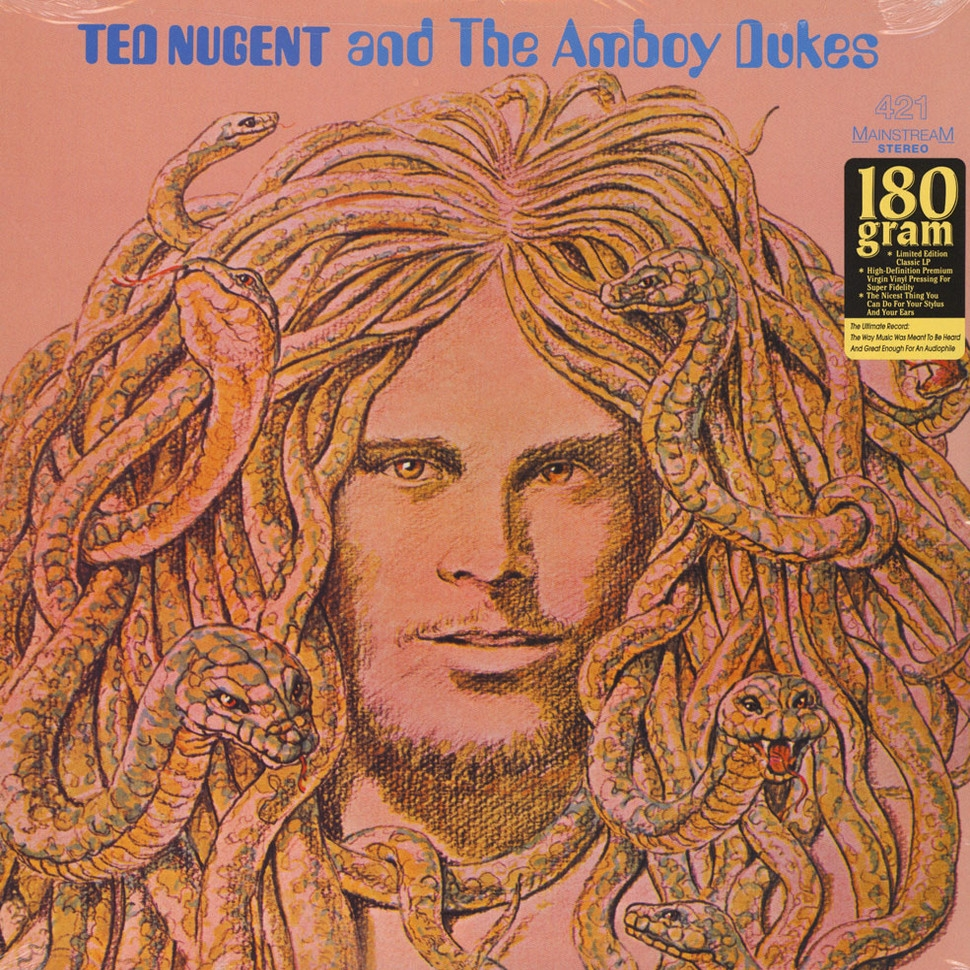 Ted Nugent And The Amboy Dukes (Vinyl)