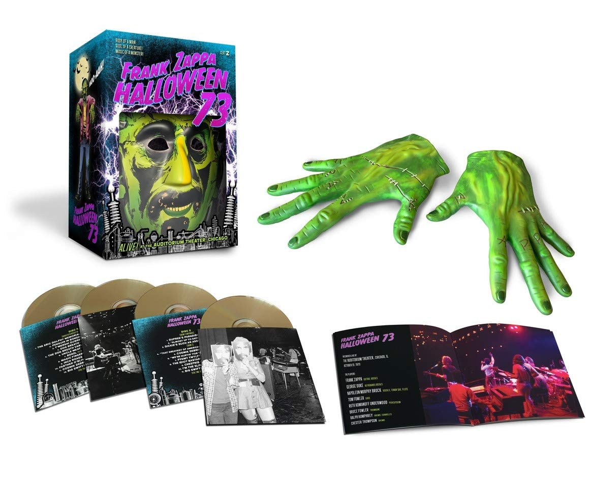 Halloween '73 (Live in Chicago,1973,Ltd. Box-Set