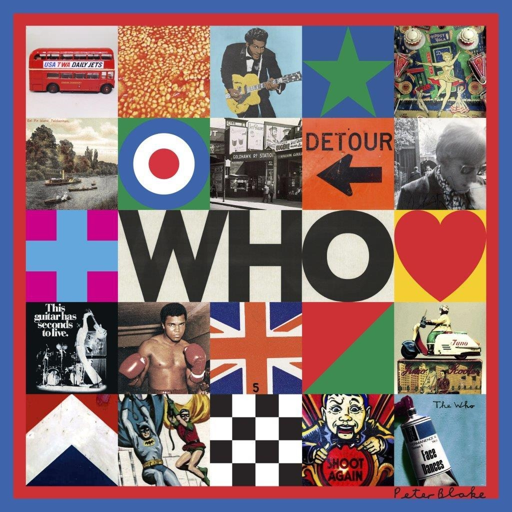 WHO (new studio album deluxe CD)