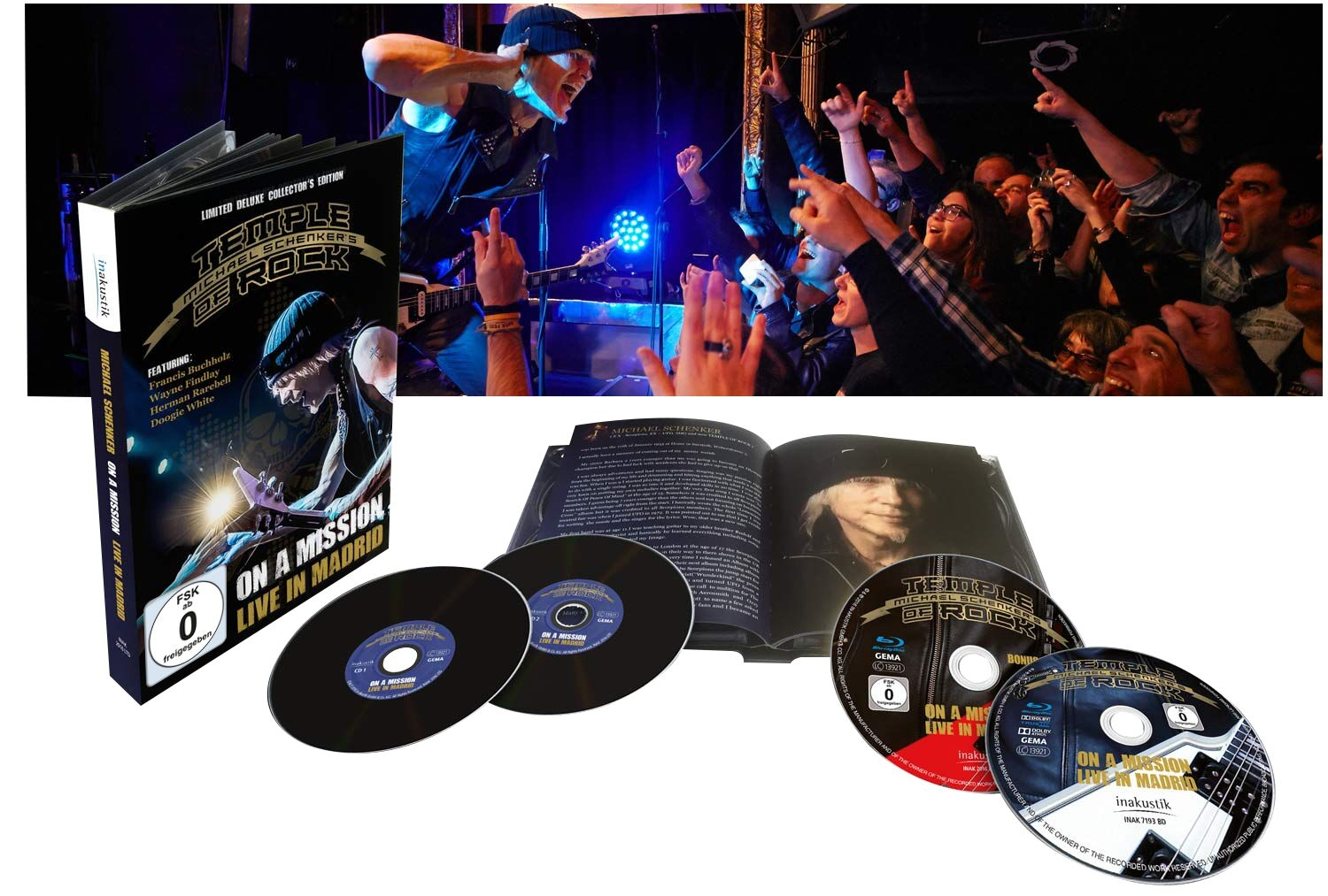On a Mission: Live in Madrid ( 2 Blu-ray + 2 CD)