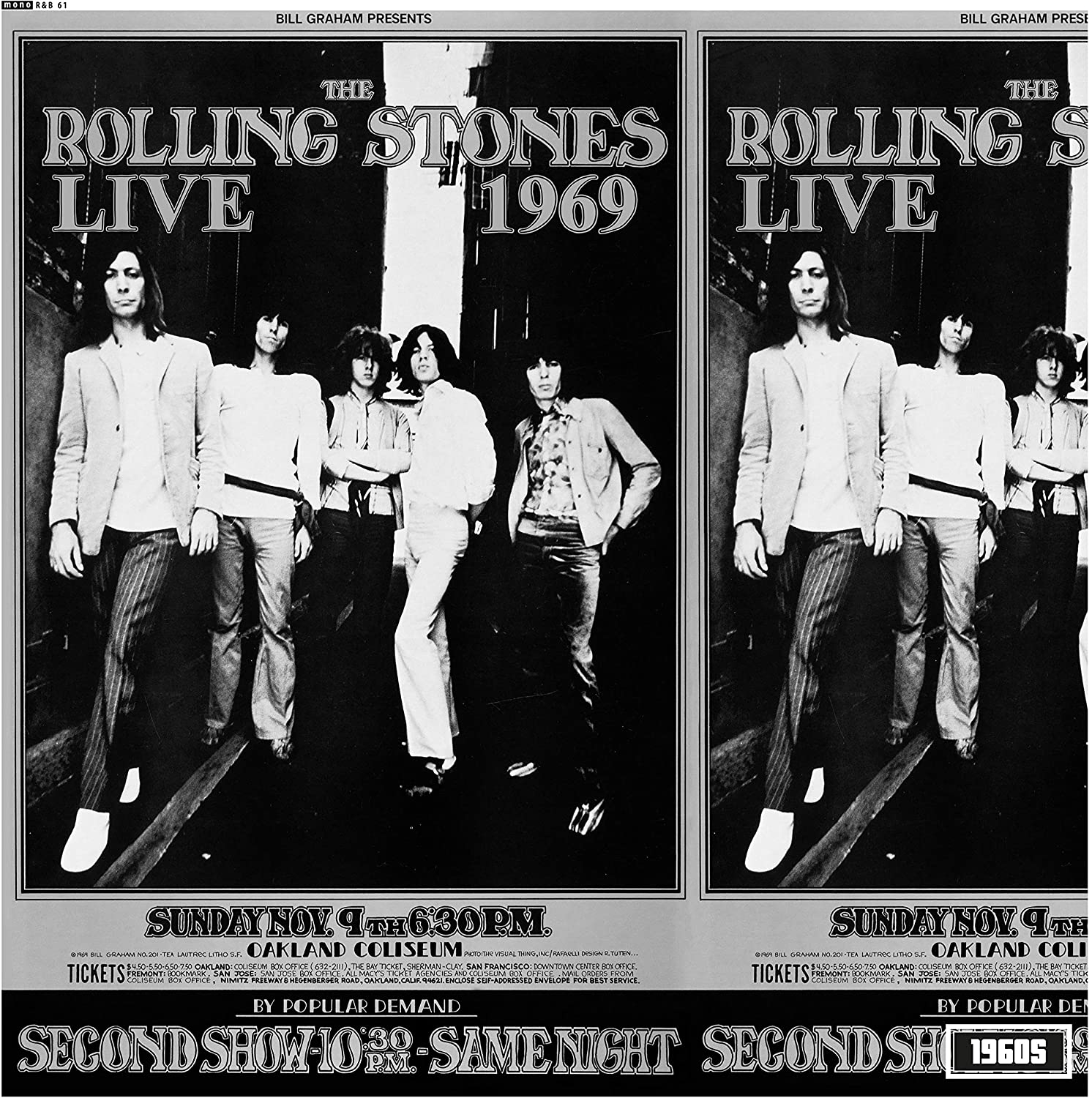 Live At The Oakland Coliseum 1969 (Vinyl)