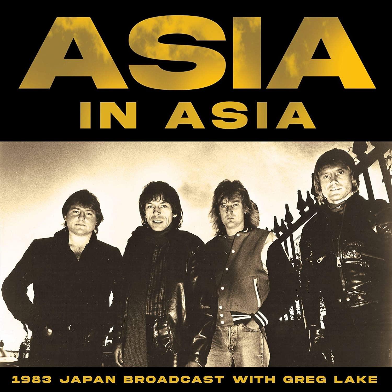 in Asia Japan Radio Broadcast with Greg Lake Budokan Tokyo 1983