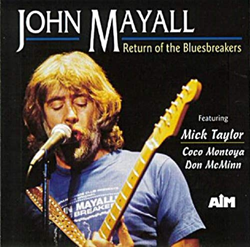 Featuring Mick Taylor ‎– Return Of The Bluesbreakers
