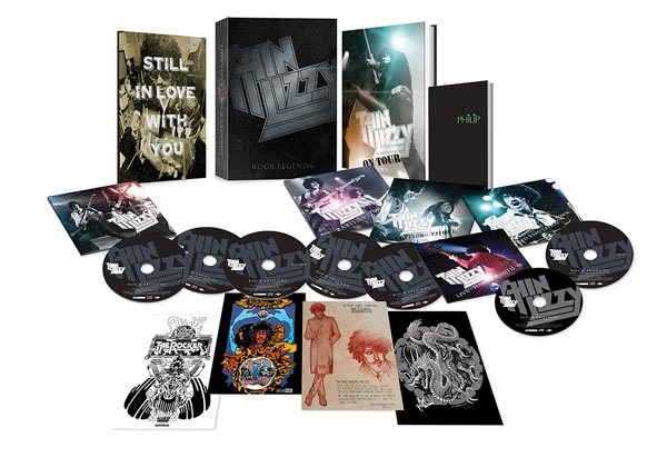 Rock Legends box set (5CD + 1 DVD)