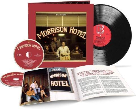 Morrison Hotel 50th anniversary deluxe edition (2CD + Vinyl)
