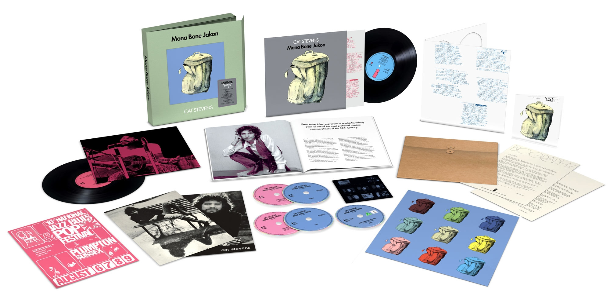 MONA BONE JAKON - SUPER DELUXE BOX SET