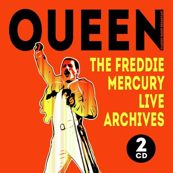 THE FREDDIE MERCURY LIVE ARCHIVES (2CD)